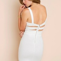Caged Sweetheart Dress in  What's New at Nasty Gal