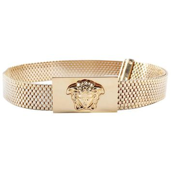 Versace Gold Chain Link Belt 75/30