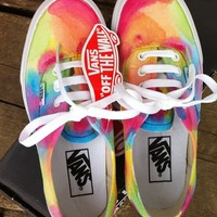 Tees To Dye For — Psychedelic Vans