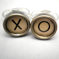 XO RINGs Vintage Remington Typewriter Key Adjustable by TheApple