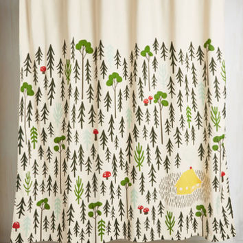 Rustic Home Sweet Hideaway Shower Curtain by ModCloth