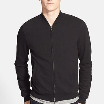 Men's Todd Snyder Felted Wool Varsity Jacket,