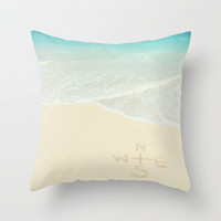 wanderlust  Throw Pillow by Sunkissed Laughter | Society6