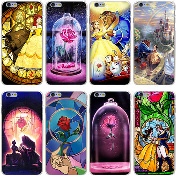 Beauty and Beast various design Cover Case for iPhone 7 7 Plus 6 6S Plus 5 5S SE 5C 4 4S hwd SQ12017
