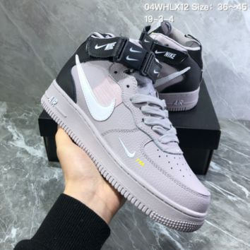 DCCK2 N827 Nike Air Force 1 07 Mid Utility Pack Mid Resected Point Skate Shoes