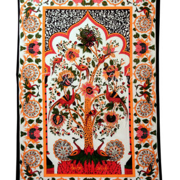Tree of Life Tapestry Wall Hanging Wall Tapestries Hippie Indian Bedding 5461
