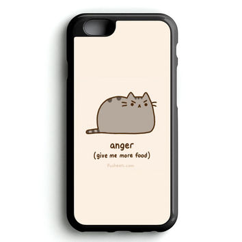 i'm Pusheen The Cat Anger iPhone 4s iphone 5s iphone 5c iphone 6 Plus Case | iPod Touch 4 iPod Touch 5 Case