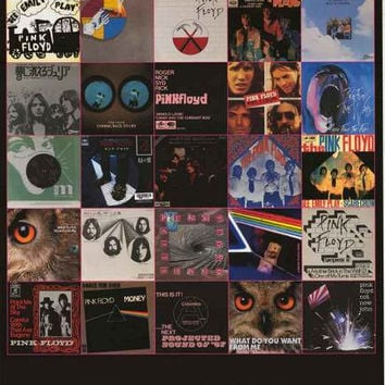 Pink Floyd The Singles Poster 24x36