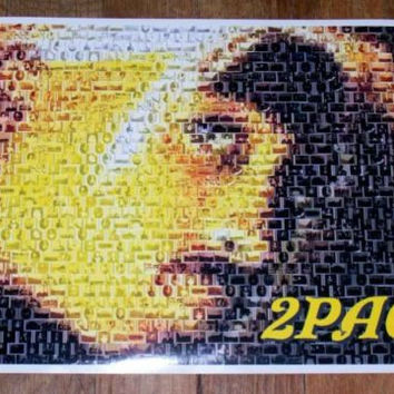 Amazing 2Pac Tupac Shakur African-American Montage #ed