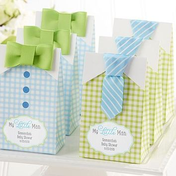 """My Little Man"" Candy Bags - Set Of 24 Assorted (Available Personalized)"