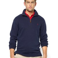 Polo Ralph Lauren French-Rib Half-Zip Pullover Sweater