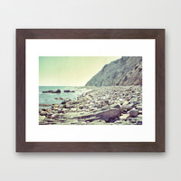 Let's see what's on the other side Framed Art Print by RichCaspian