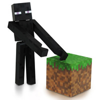 J!NX : Minecraft Enderman Action Figure