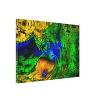 An Abstract Land Canvas Print