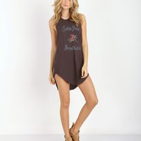 Spell & the Gypsy Cactus Rose Tee Dress 0141020711 - Free Shipping at Largo Drive