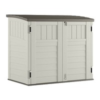 Suncast Storage Shed, Horizontal, Double-Wall Resin, 34-Cu. Ft.: Model# BMS2500 | True Value