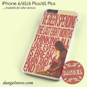 Taylor Swift Lyric Phone case for iPhone 6/6s/6 Plus/6S plus