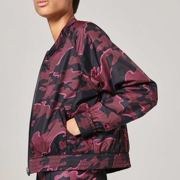 Camo Print Bomber by Ivy Park | Topshop