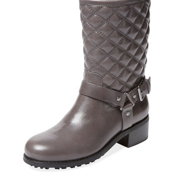 Meryn Quilted Motorcycle Boot