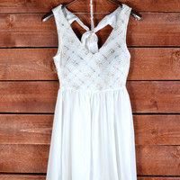 Night In White Dress - Shoreline Boutique
