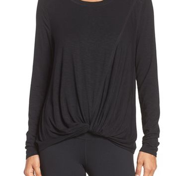 Zella Twist & Breathe Reversible Tee | Nordstrom