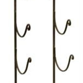 "Towel & Wine Rack - 41 "" H X 7.25 "" W X 7 "" L"