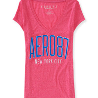 Aeropostale  Aero 87 V-Neck Graphic T