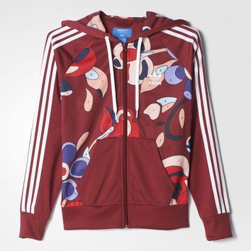 adidas Originals Rita Ora Zipper Hooded Jacket