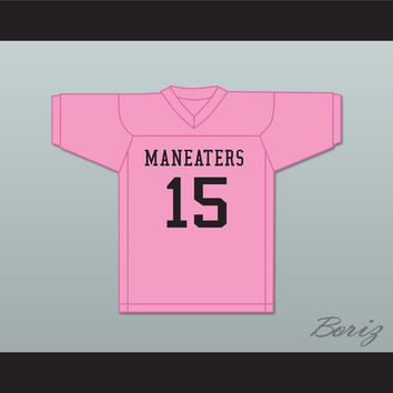 Player 15 Maneaters Intramural Flag Football Jersey Balls Out