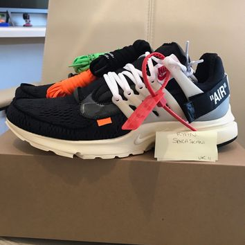 Off-White x Nike Air Presto The 10 UK 11 / US 12 By Virgil Abloh