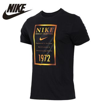 NIKE Original 2018 New Arrival Mens Trainning & Exercise T-shirts Breathable Outdoor For Men #913524-010