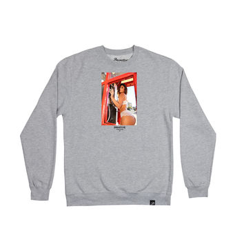BOOTH CREWNECK - ATHLETIC HEATHER