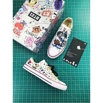 Bt21 X Converse Chuck Taylor All Star Low Sneakers