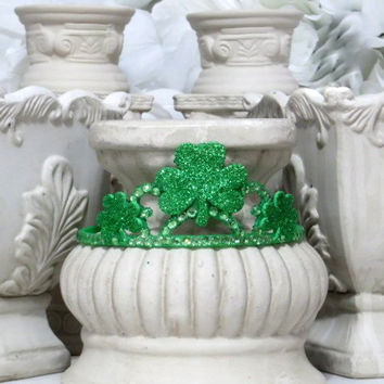 Saint Patrick's Day - Irish Holiday - St Patty's day - Girls Hair Accessories - Party Accessories - Party Crown - Dress Up Girl - Photo Prop