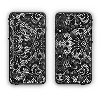 The Black and White Lace Pattern10867032_xl Apple iPhone 6 Plus LifeProof Nuud Case Skin Set
