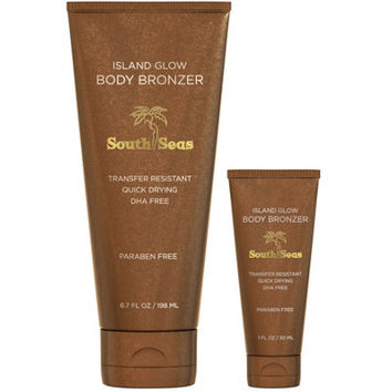 South Seas Island Glow Home & To Go Instant Body Bronzer - A277020 — QVC.com