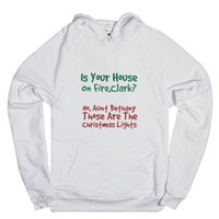 CHristmas Vacation-Unisex White Hoodie