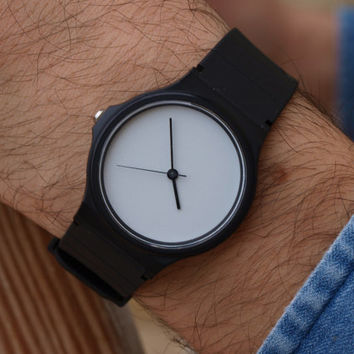 Custom Casio Light Grey - unisex watch - men's watch - ladies watch - for simple dress - lovely gift - casual - only watch - exclusive