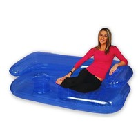 Blow up Inflatable Furniture :: Full Sized 6' Inflatable Sofa Couch