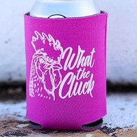 What the Cluck Can Holder in Fuchsia