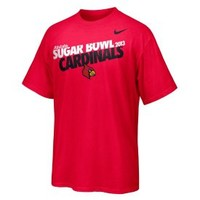 Nike Adult 2013 Sugar Bowl Bound Louisville Cardinals Red Team T-Shirt - Dick's Sporting Goods