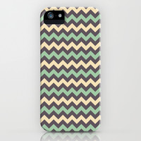 Chevron 2 iPhone & iPod Case by Tami Art