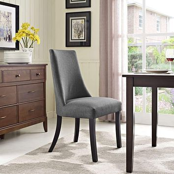 Gray Reverie Dining Side Chair
