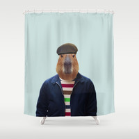 Polaroid N°12 Shower Curtain by Francesca Miele (Natt)