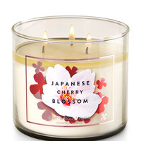 Japanese Cherry Blossom 3-Wick Candle | Bath And Body Works