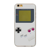 Ultra Thin Nintendo Gameboy Painted Vivid Pattern Soft TPU Cover Case For Apple iPhone 4 4s 5 5s SE 5c 6 6s 6 Plus 6s Plus