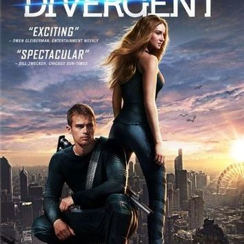 Divergent [Includes Digital Copy] [DVD] [2014]