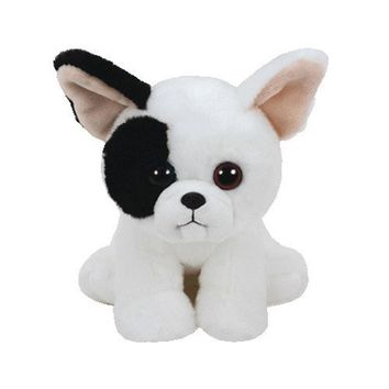 "Ty Beanie Babies 10"" 25cm Marcel French Bulldog Plush Medium Stuffed Animal Collectible Puppy Doll Toy"