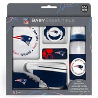 Baby Fanatic 5 piece gift set NFL New England Patriots