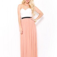 Bustier Lace Maxi Dress - JUST ARRIVED